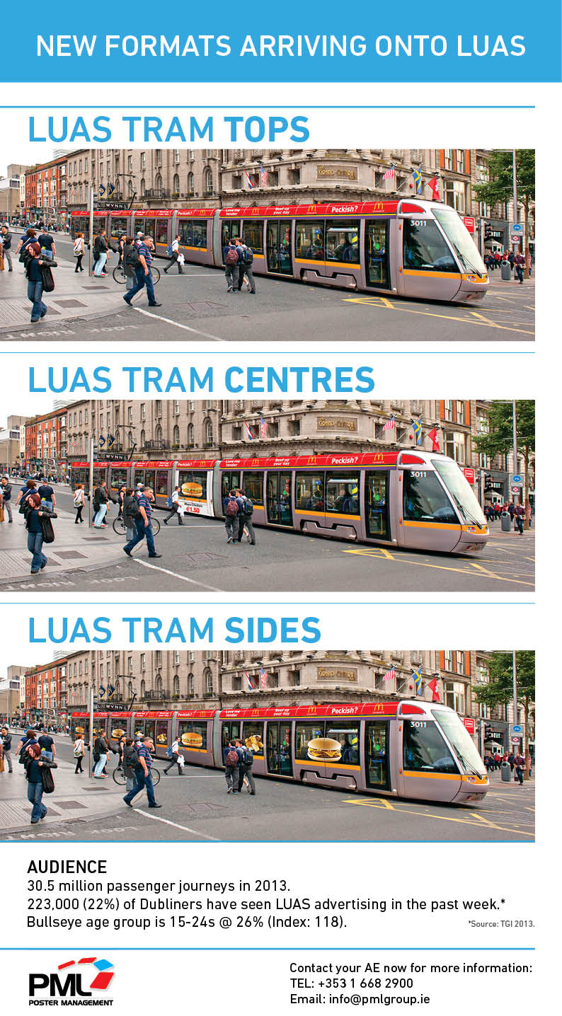 New format luas Wraps No Price PML