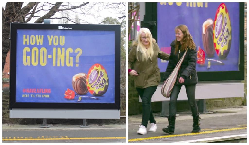 Creme Egg flirt board